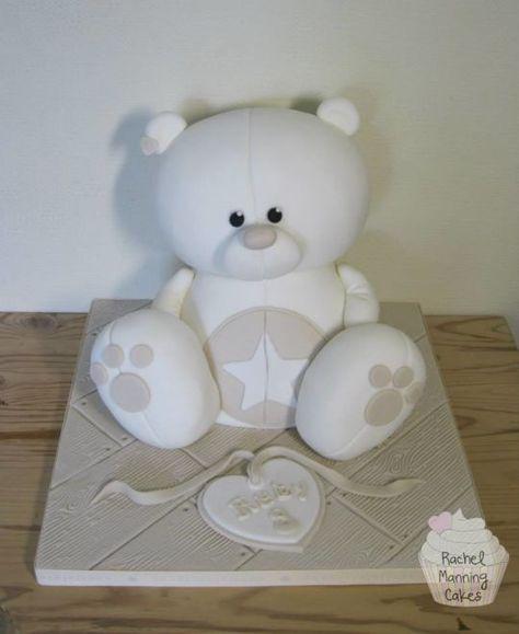 Teddy bear cake | Rachel Manning Cakes