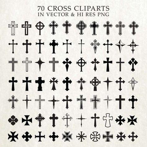 Cross SVG Cut Files, Crosses SVG Cut Files, Christian SVG Bundle - svg dxf eps png - Silhouette Came