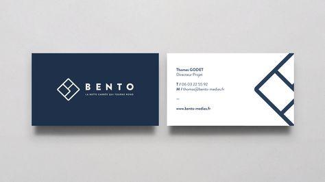 Bento Medias Medias Identite Visuelle Branding Carte De Visite