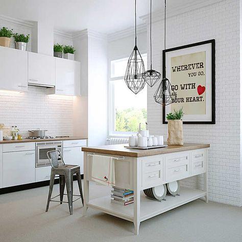 Gramercy 64 Kitchen Island Costco Modern Kitchen Design Room