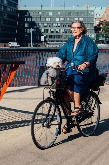 Cycle Chic has no age limit