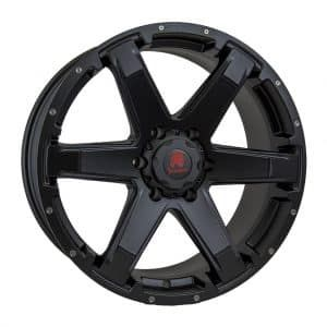 Tomahawk Chinook Satin Black Alloy Wheel Alloy Wheel Wheel