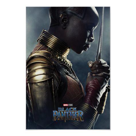 Black Panther   Okoye Character Poster