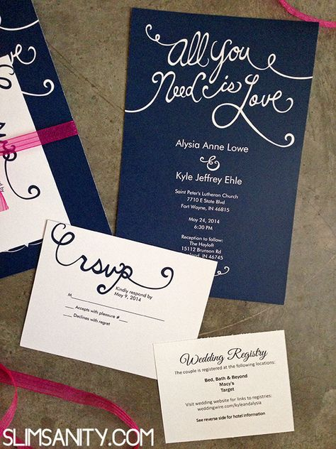 Affordable Wedding Invitations From Vistaprint