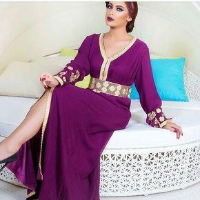 expédition de baisse dernière remise sortie d'usine Caftan 2018 Luxe & Simplicité - Robes Marocaines En Vente ...