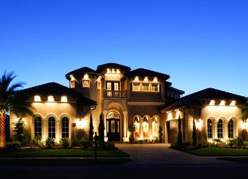 christopher burton luxury homes mediterranean exterior - Luxury Homes Exterior Brick