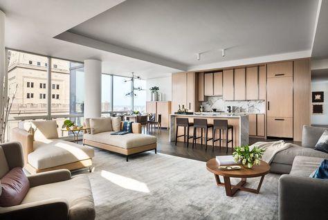 Gisele Bundchen and Tom Bradyu0027s high-rise condo Interior - gebrauchte küchen frankfurt