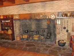 Image Result For Open Hearth Cooking Fireplace Design