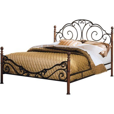 Home Metal Beds Bed Frame Headboard Wrought Iron Beds
