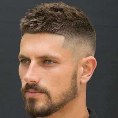 Low Maintenance Hairstyles For Men High Skin Fade Haircut Fade