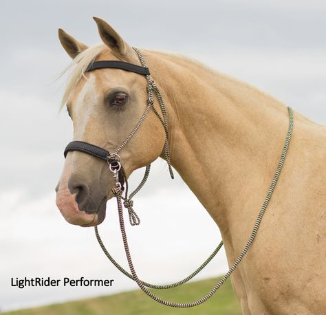 LightRider Bridle - Rope Performer - Natural Horse World