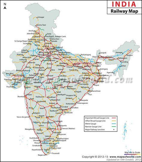 indian railway train route map India Railway Map India Railway India Map Indian Railways indian railway train route map