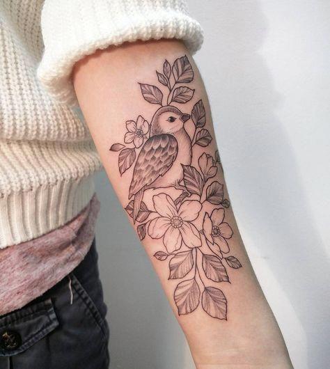 Forearm Feminine Bird Tattoo By Irene Bogachuk Smalltattoodesigns Bird Tattoos For Women Bird Tattoos Arm Forearm Tattoo Women