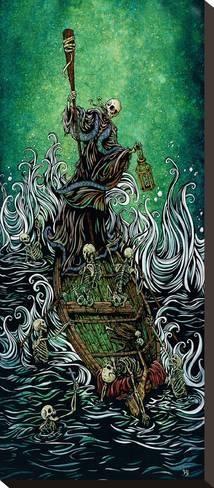 Asian mythology 7 boatmen