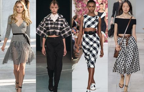 184961c813920 Tendenze moda primavera estate 2015  quadretti - Tendenze primavera estate  2015  la moda per la bella stagione