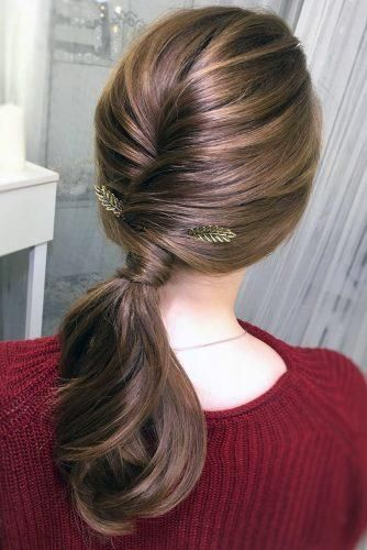 24 Pony Tail Hairstyles Wedding Party Perfect Ideas In 2020 Tail Hairstyle Hair Styles Pony Hairstyles