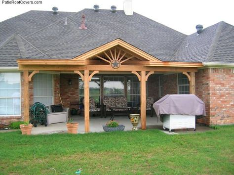 Open Gable Patio Cover Design | Gable Patio Covers | Full Labels On Patio  Covers | Hip And Ridge Patio ..? | Patio Idias | Pinterest | Patios,  Backyard And ...