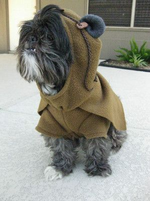 Handmade Star Wars Ewok Pet Dog Costume Ebay Pets Dog Costume