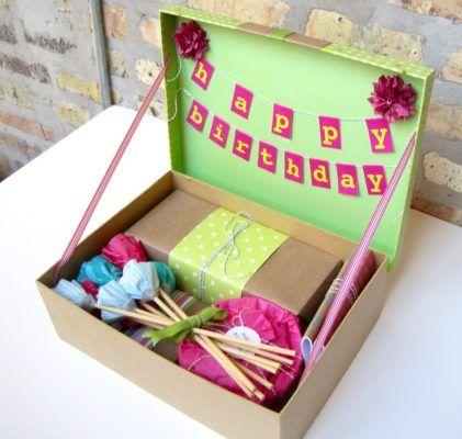 Caja De Cumpleaños Sorpresa Top 2020 Receta Caja Sorpresa Cumpleaños Caja De Cumpleaños Cajas De Regalo