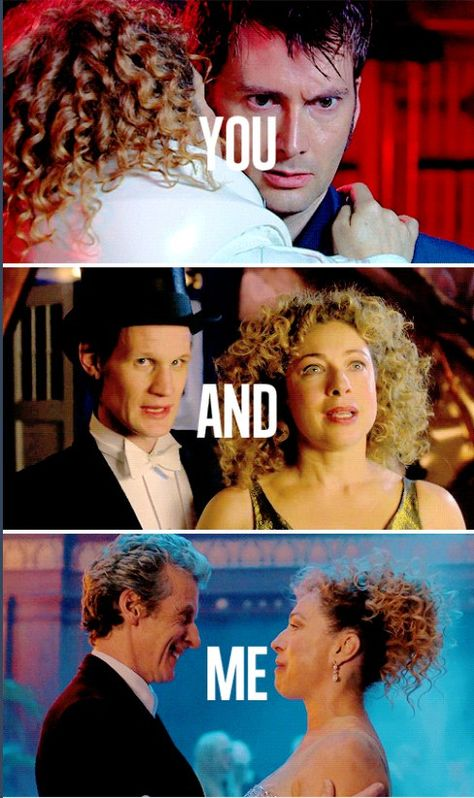 You watch us run! Doctor Who  Christmas special The Husbands of River Song
