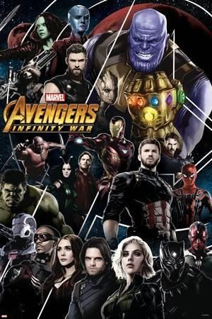Avengers Infinity War Thanos And Avengers Posters Allposters Com Avengers Poster Avengers Infinity War Avengers