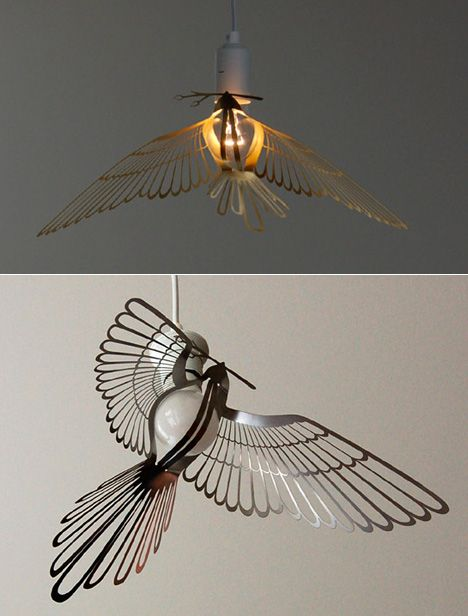 BIRD IN HAND Light By J.P.Meulendijks For PLANKTON Lighting | Pendants |  Pinterest | Lights, Chandeliers And Lighting Design