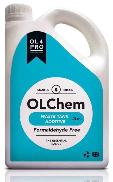 Olchem Toilet Fluid 2l Waste Tanks Motorhome Fluid