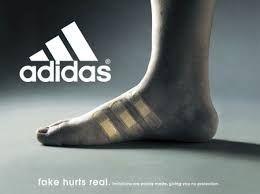 Palmadita amenazar esculpir  Publicidad de Adidas Autor: Desconocido Titulo