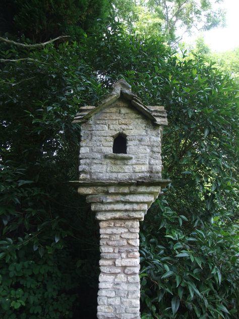 Stone Dovecote At Dewstow Garden Nr Chepstow