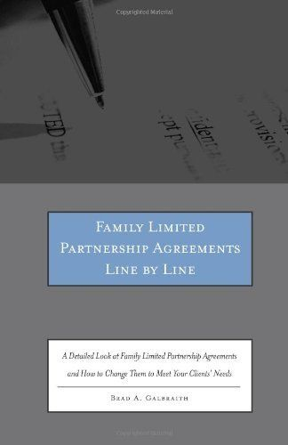 A Guide to Family Limited Partnerships Money Matters