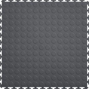 Rubber Cal Inc Diamond Plate Garage Flooring Roll In Black Wayfair Garage Tile Garage Floor Tiles Interlocking Floor Tiles