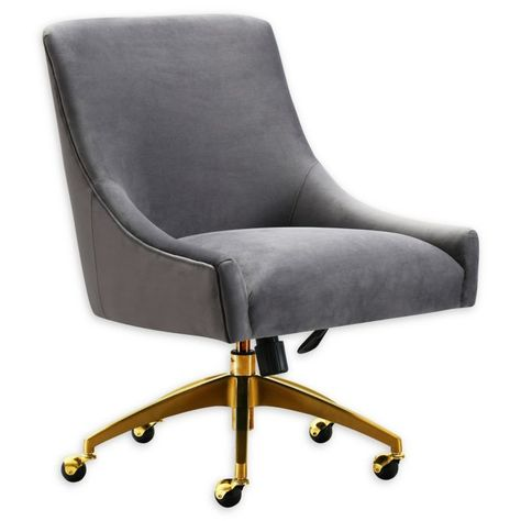 Super Tov Furniture Velvet Swivel Beatrix Office Chair Bed Bath Andrewgaddart Wooden Chair Designs For Living Room Andrewgaddartcom