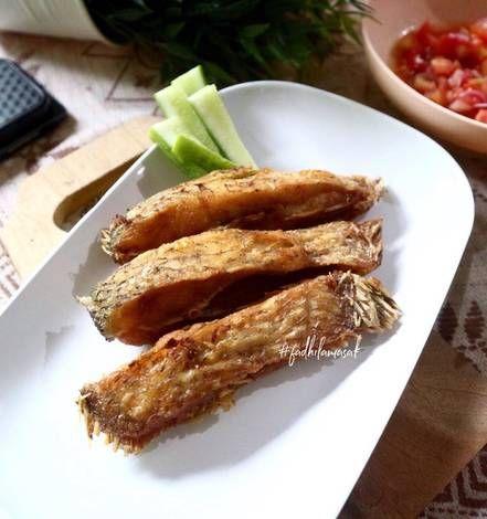 Resep Ikan Gurame Goreng Oleh Fadhila Azharini Resep Resep Ikan Resep Resep Makanan