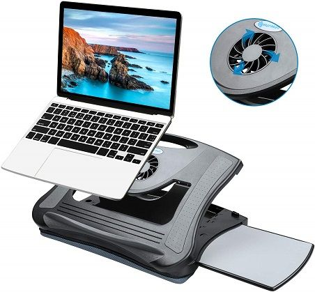 Adjustable Lap Desk With Cooling Fan 45 Off With Promo Code
