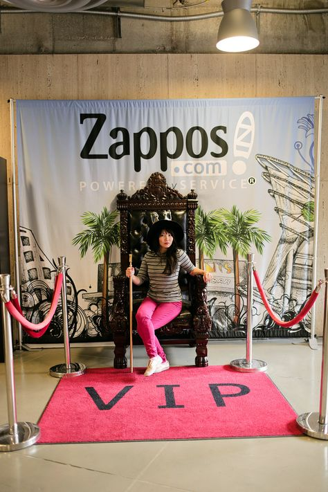 Zappos is famous for helping people, including their employees. They even have events where employees can pitch their personal business ideas.