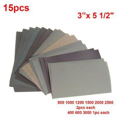 Ebay Advertisement Wet Dry Sandpaper 400 600 3000 800 1000 1200 1500 2000 2500 Grit Tools Supplies Sanding Furniture Wet And Dry Sandpaper