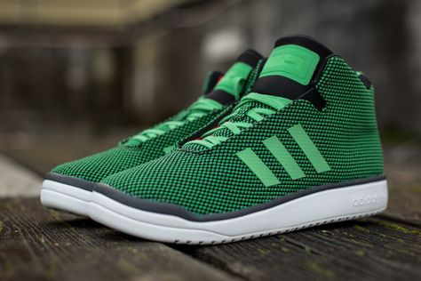 "sports shoes 79d07 c6528 adidas Veritas Mid ""Bright Green"""