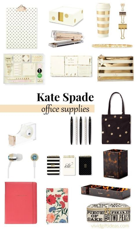 22 Kate Spade New York Office Supplies You'll LOVE