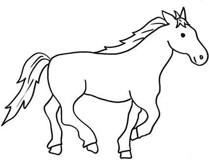 Disegni Da Colorare Di Cavalli Selvaggi.Disegni Da Colorare Facili Sui Bambino A Cavallo Ricerca