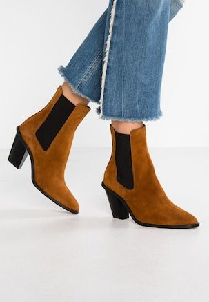 WIDE FIT MORTY - High Heel Stiefelette