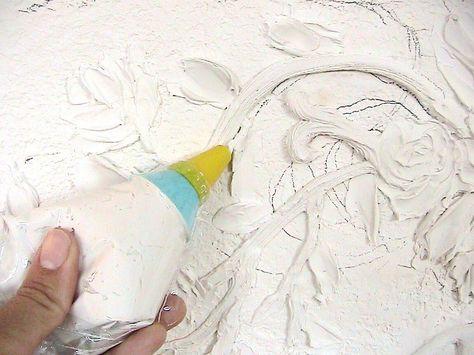глазурь для штукатурки своими руками