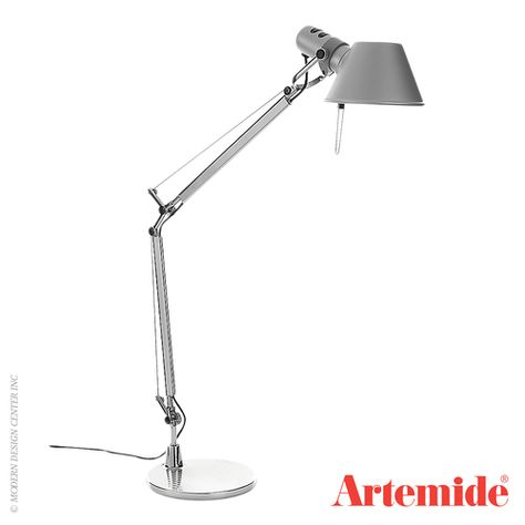 Artemide Tolomeo Mini Led With Motion Sensor Available At Allmodernoutlet Com Tolomeo Lamp Artemide Artemide Tolomeo