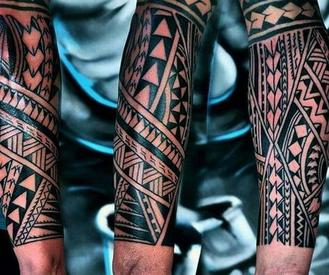 polynesian tattoos meaning strength and courage