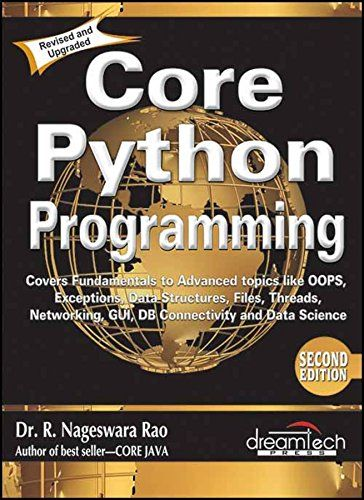 Core Python Programming,2/E (Paperback) in 2019 | Python