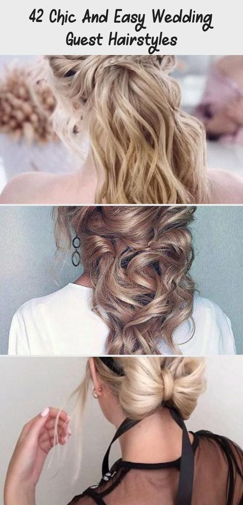 42 Chic And Easy Wedding Guest Hairstyles - HairStyles -  36 Chic And Easy Wedding Guest Hairstyles ❤️ wedding guest hairstyles low updo on blonde hair w - #Chic #diyhairstyleslong #Easy #guest #hairstyles #hairstylesweddingguest #wedding