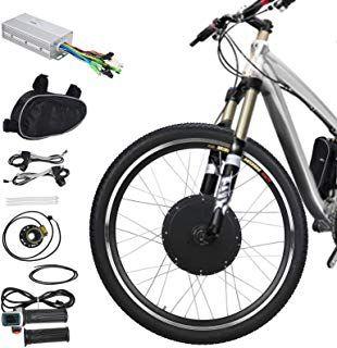 "Elektrisch E Bicycle Front Wheel Conversion Kit 36v 500w 26/"" 26 Inch Wheel Bike"