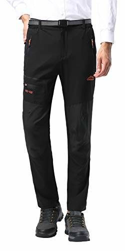 DAFENGEA Mens Outdoor Lightweight Breathable Quick Dry Hiking Pants
