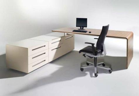 Schreibtisch büro modern  Schreibtisch-Büro-hell-kompakt. Mit casetur mechanism wird dieser ...