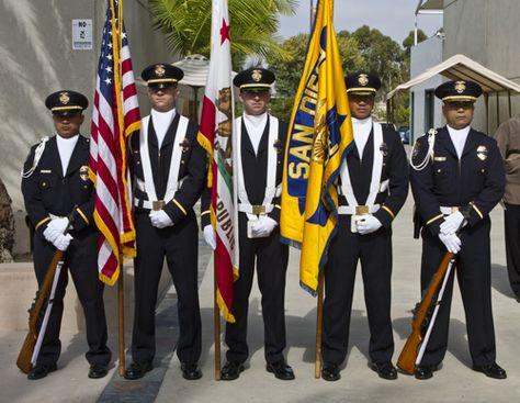SDPD Honor Guard
