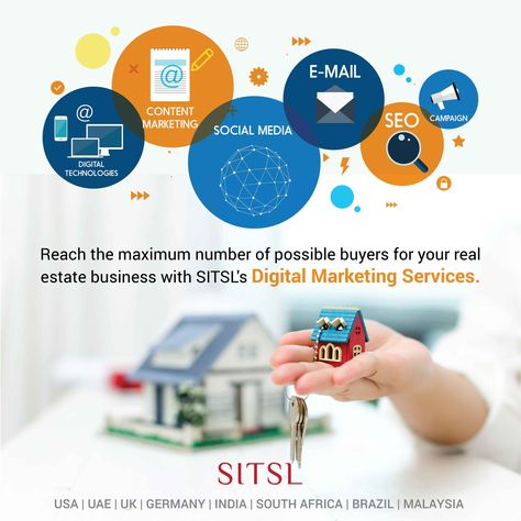 SITSL's Digital Marketing Services for Real Estate Sector